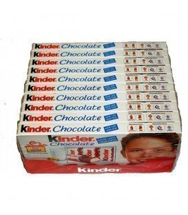 KINDER CHOCOLATE T8 10UDS