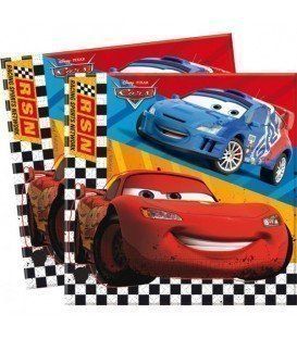 SERVILLETAS CARS 20UDS