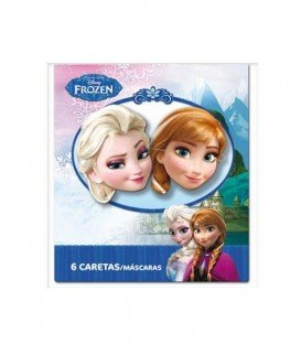 CARETAS FROZEN 6 UDS