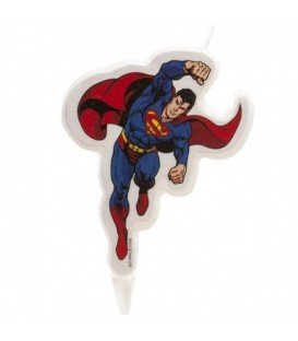 VELA DE CUMPLEAÑOS SUPERMAN
