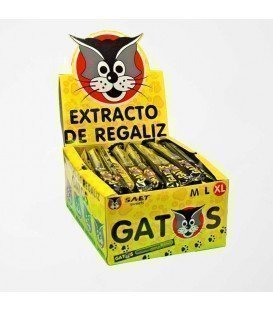REGALIZ GATO XL 40 UNIDADES